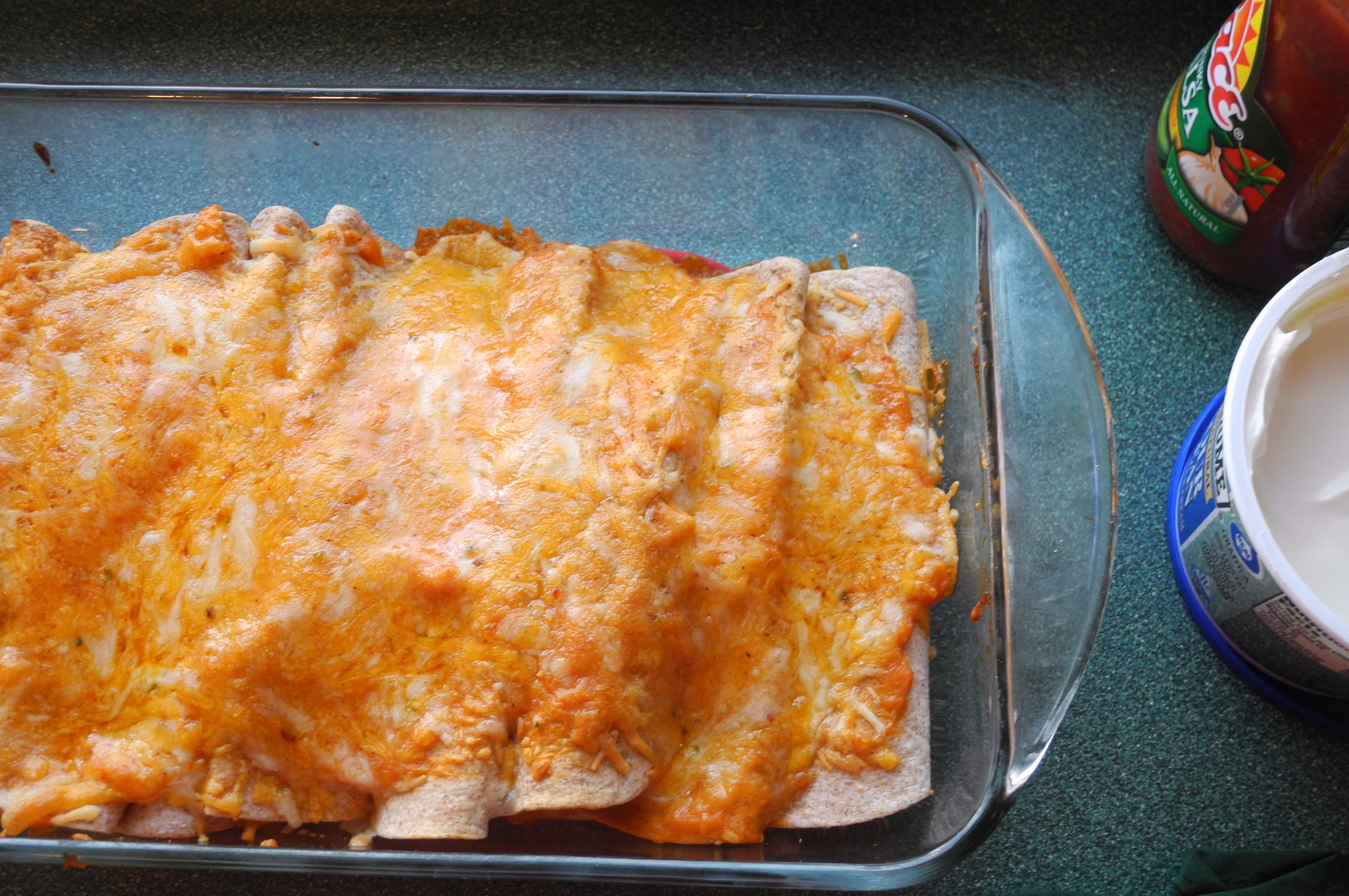 Lighter Chicken Enchiladas | Reini Days