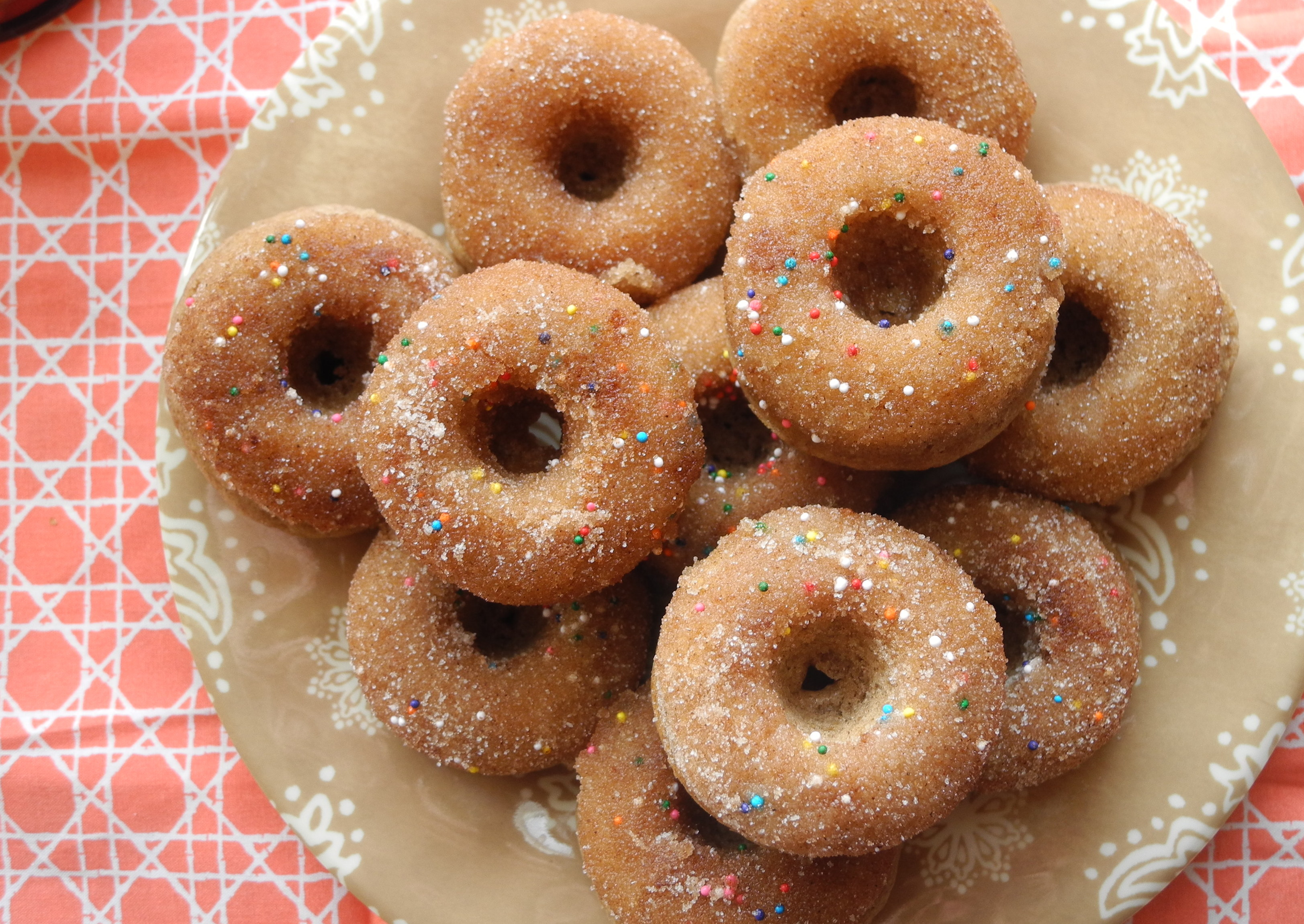 Easy Baked Cake Donuts