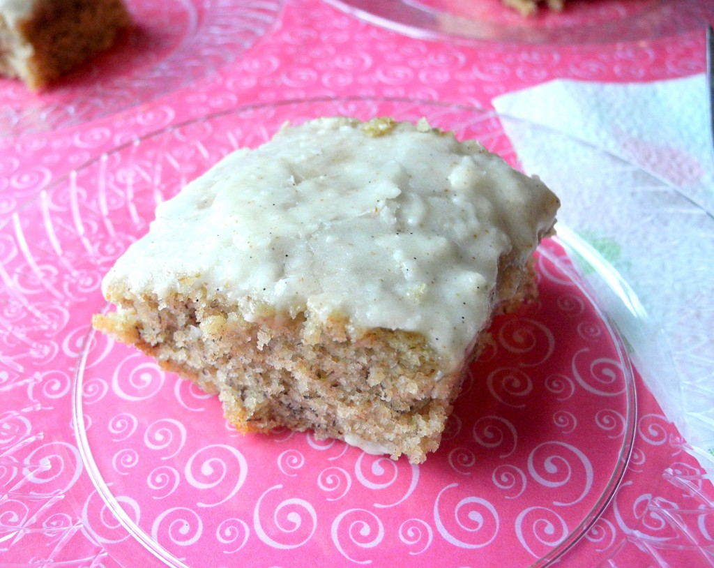 Banana Cake with Brown Butter Frosting2 -- Reini Days