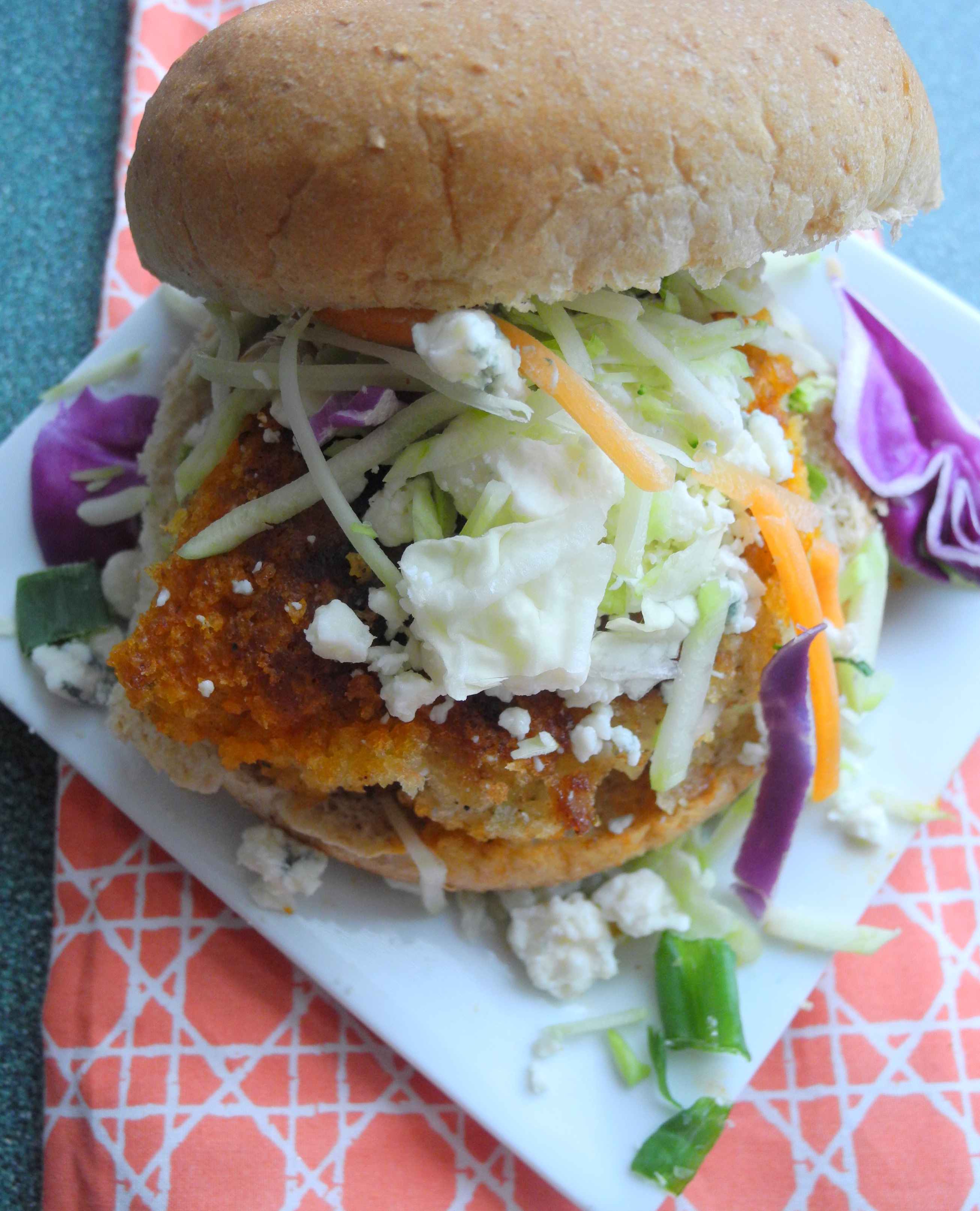 Buffalo Chicken Sandwiches-- Reini Days